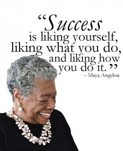 Maya on success