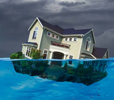 houses underwater