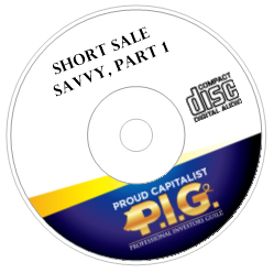 Short Sale Savvy Audio Course